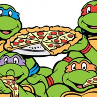 TMNT Léonardo, Raphael, Michaelangelo, Donatello