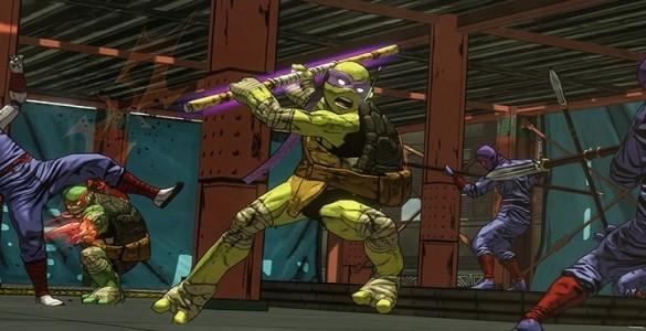 TMNT: Mutants in Manhattan Don et le Foot Clan