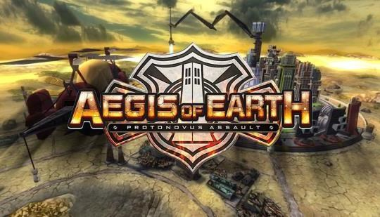 Logo de Aegis of Earth: Protonovus Assault
