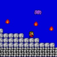 Alex Kidd in Miracle World Alex esquive les flammes