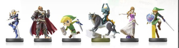 Amiibos de The legend of Zelda