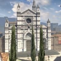 Assassin's Creed Identity héros sur un toit contemplant une cathédrale