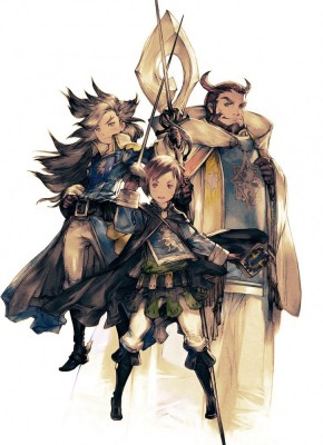 Bravely Second: End Layer Les Trois Cavaliers artwork