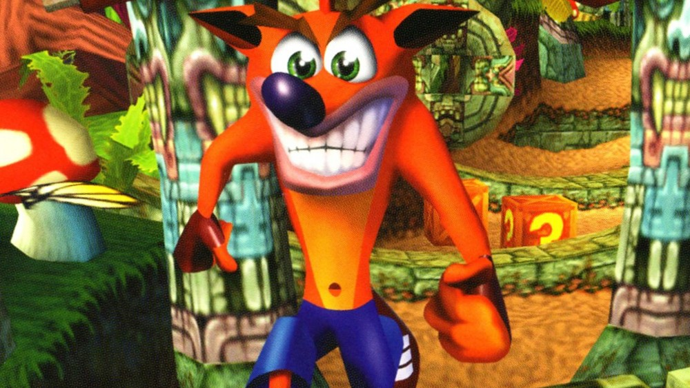 Crash Bandicoot Titre