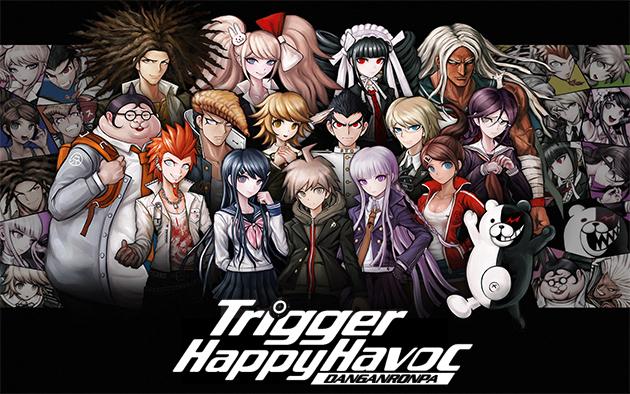 Les personnages principaux du jeu DanganRonPa : Trigger Happy Havoc