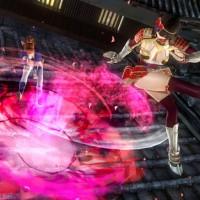 Dead or Alive 5 Last Round Naotora donne un coup de pied