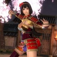 Dead or Alive 5 Last Round Naotora en samouraï