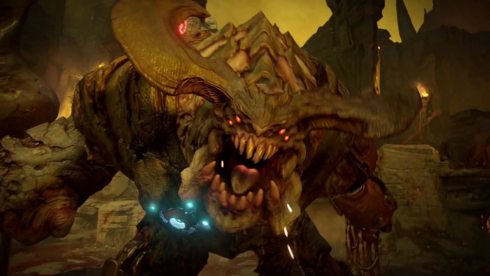 Doom monstre exécution