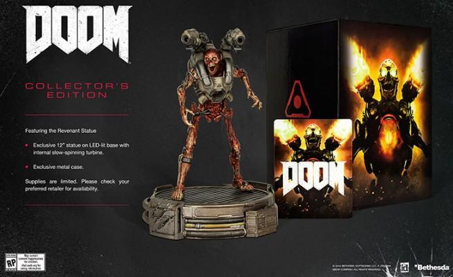 doom collector figurine revenant