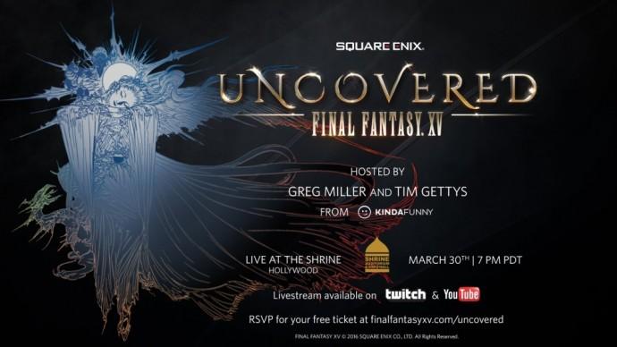 Final Fantasy XV annonce 30 mars