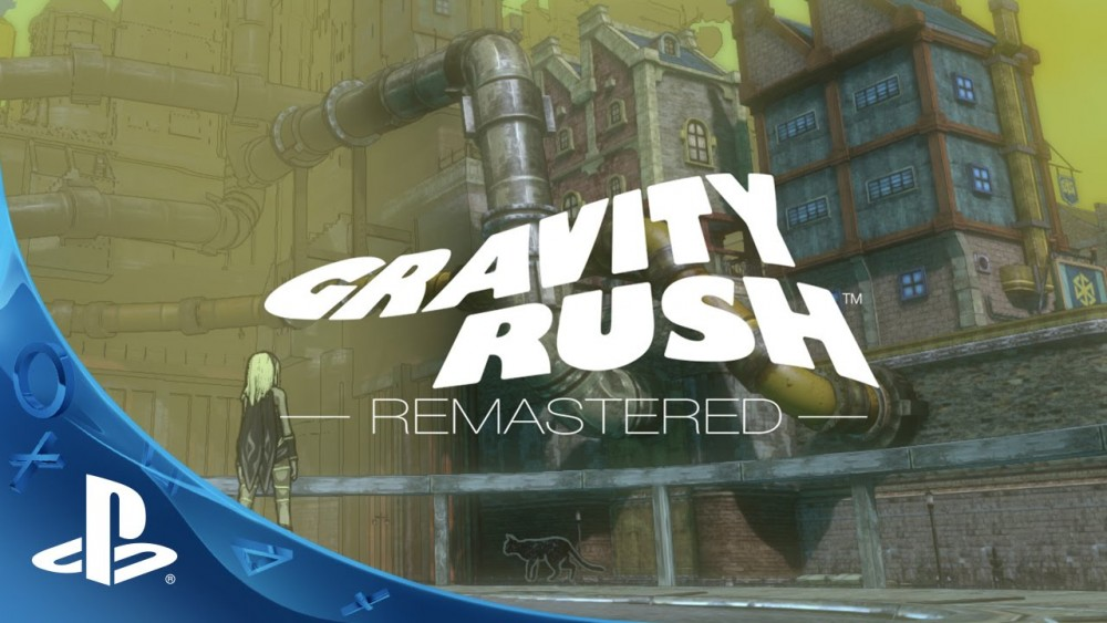 Cover PS4 Gravity Rush Remastered