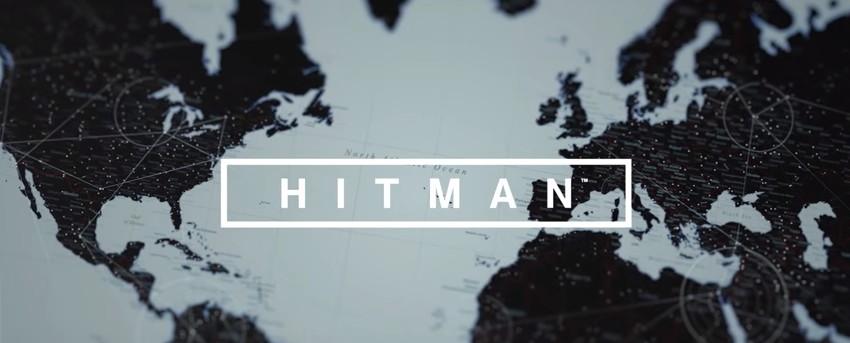 Hitman logo sur carte du monde