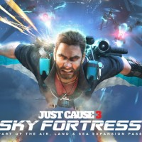 Just Cause 3 Sky Fortress Artwork