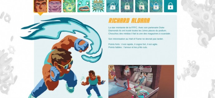 LASTFIGHT Personnage Richard Aldana