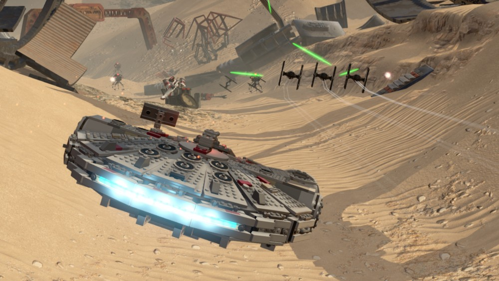 Le Faucon Millenium de LEGO Star Wars: le Réveil de la Force