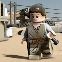 Rey dans LEGO Star Wars: le Réveil de la Force