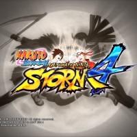 Naruto Shippuden Ultimate Ninja Storm 4 Hashirama et Madara s'affrontent sur le logo du jeu