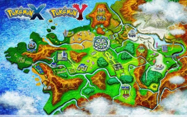 Pokémon carte de Kalos