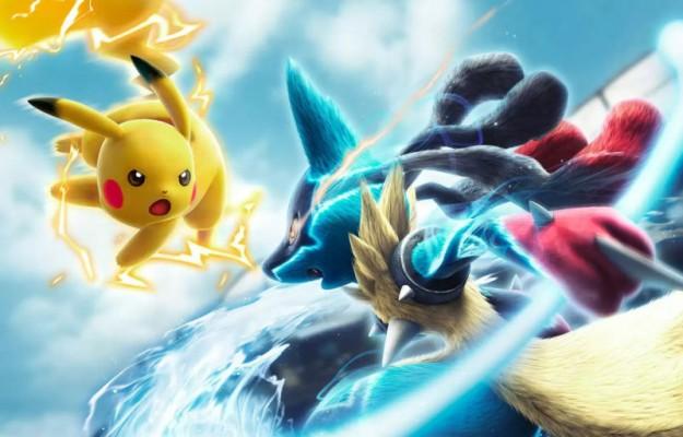 Pokkén Tournament Pikachu Vs Lucario