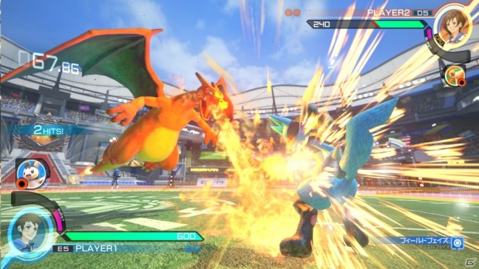 Pokkén Tournment Dracaufeu