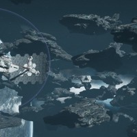 Fractured Space astéroïdes