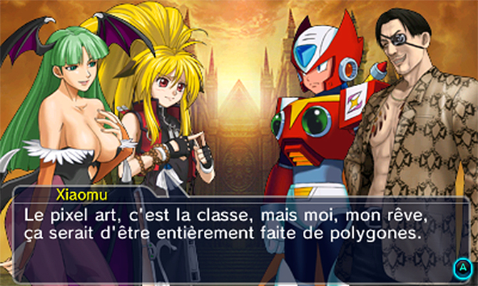 Project X Zone 2 dialogue