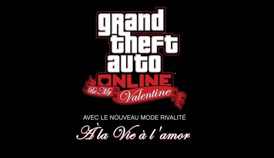 Evènement Saint Valentin GTA Online logo