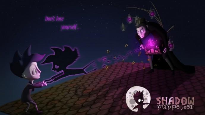 Shadow puppeteer Marionnettiste de l'Ombre