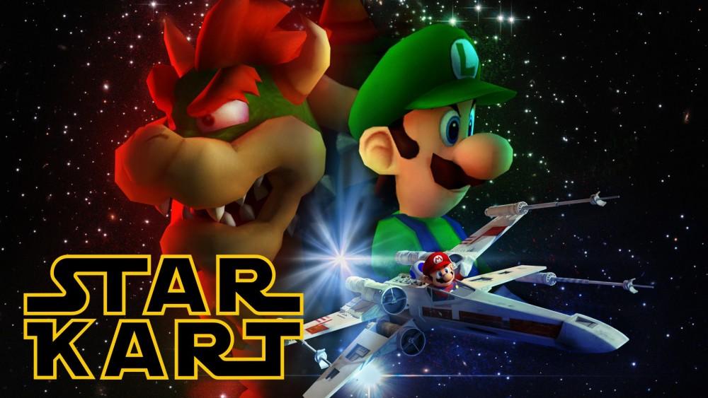 Mario Kart + Star Wars