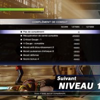 Street Fighter V écran de fin de combat en mode Survie