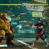 Street Fighter V Birdie affronte Chun Li
