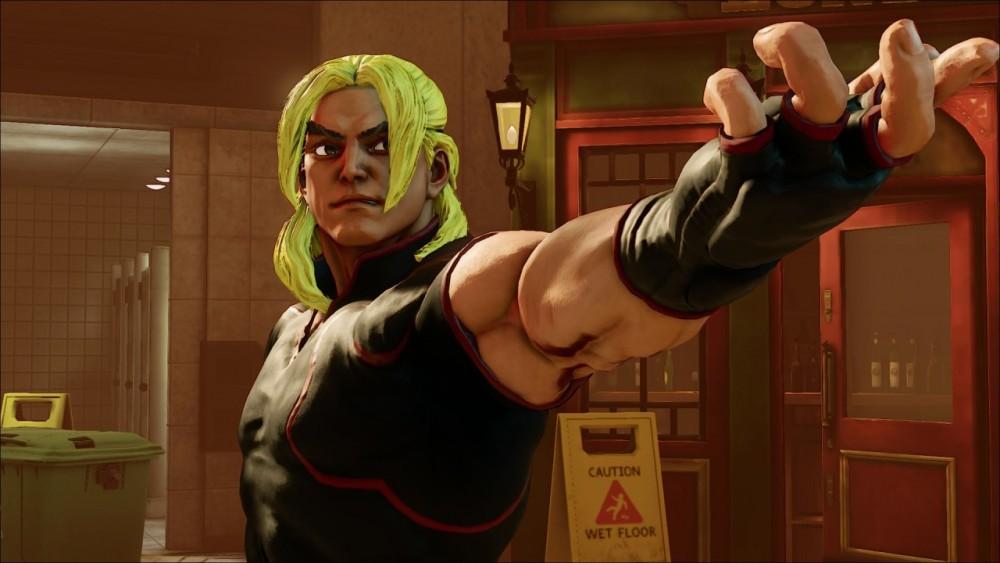 Ken dans Street Fighter V