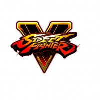 Street Fighter V Logo sur fond blanc