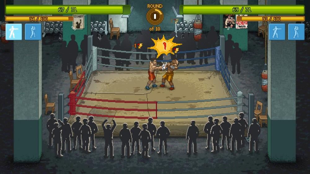 punch club combat de boxe