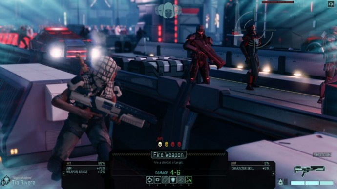 XCOM 2 personnage en couverture