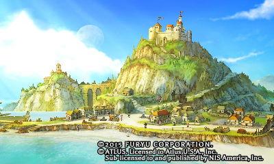 Initium, la capitale d'Avalon dans The Legend of Legacy