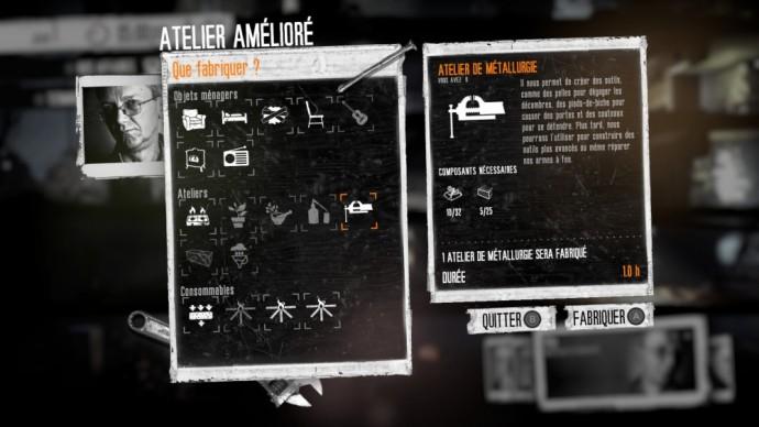 Atelier amélioré dans This War of Mine: The Little Ones