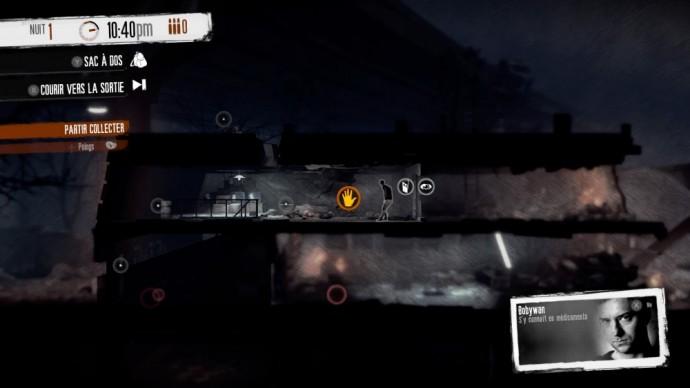Une excursion nocturne dans This War of Mine: The Little Ones