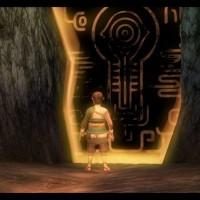Link devant le crépuscule