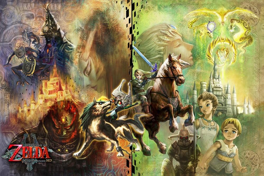 The Legend of Zelda: Twilight Princess HD Titre