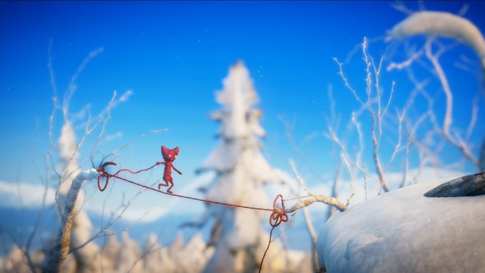 Yarny sous la neige