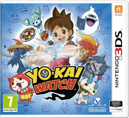 YO-KAI WATCH Jaquette 3DS