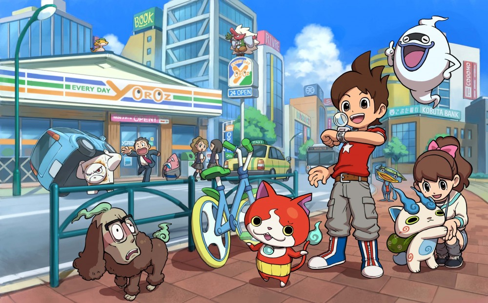 Artwork YO-KAI WATCH