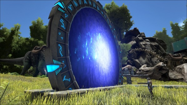 ark survival evolved stargate port mod