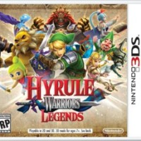 Jaquette 3Ds de Hyrule Warriors: Legends