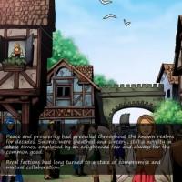 Swords and Sorcery début du jeu
