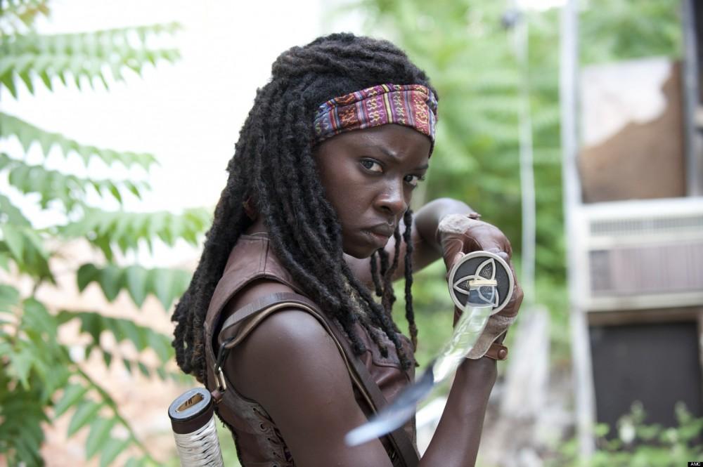 Michonne dans la série télé Walking Dead
