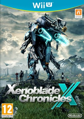 La jaquette Wii U de Xenoblade Chronicles X