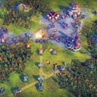 Battle Worlds: Kronos champ de bataille