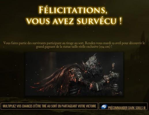 Dark Souls III Concours Facebook
